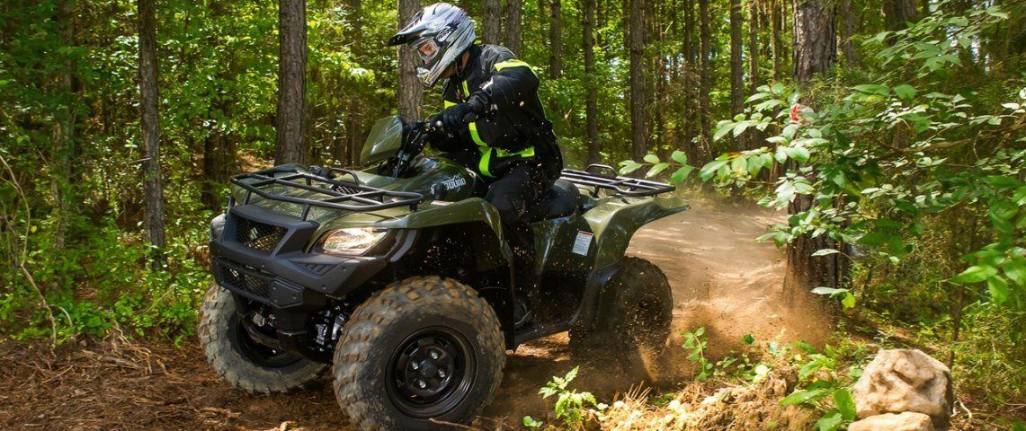 suzuki kingquad green